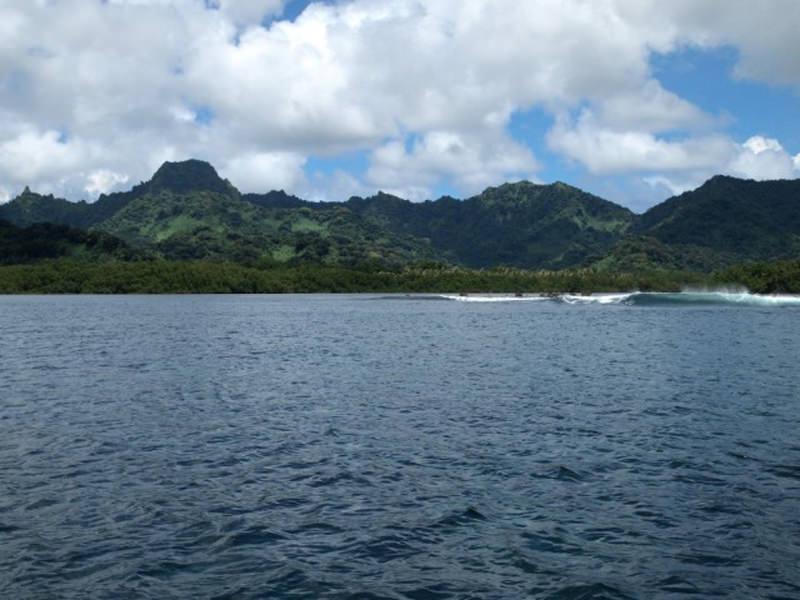Montañas Isla Kosrae