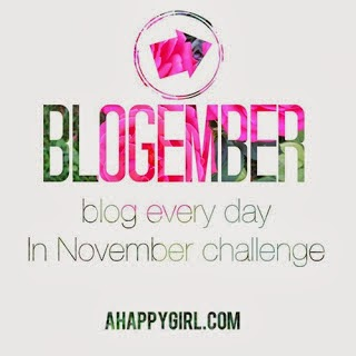 http://www.ahappygirl.com/2013/10/blogember-blog-every-day-in-november.html