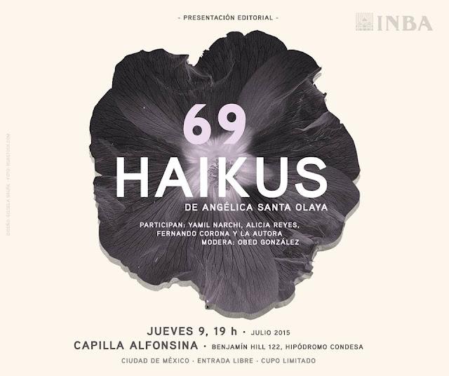 """Presentación editorial de """"69 Haikus"""" de Angélica Santa Olaya en la Capilla Alfonsina"""