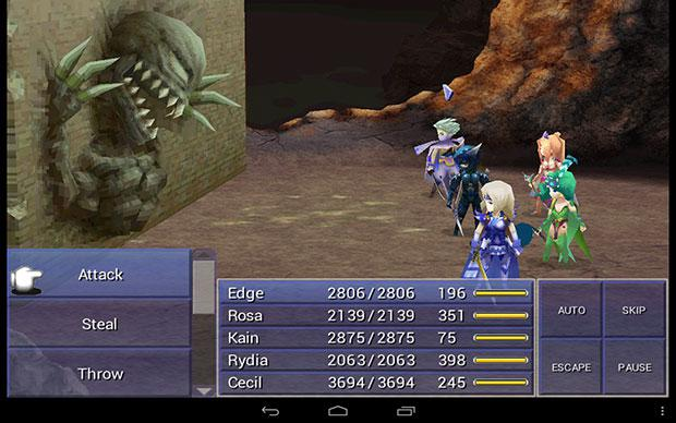 Final Fantasy 4 v1.5.0 Full Apk Android