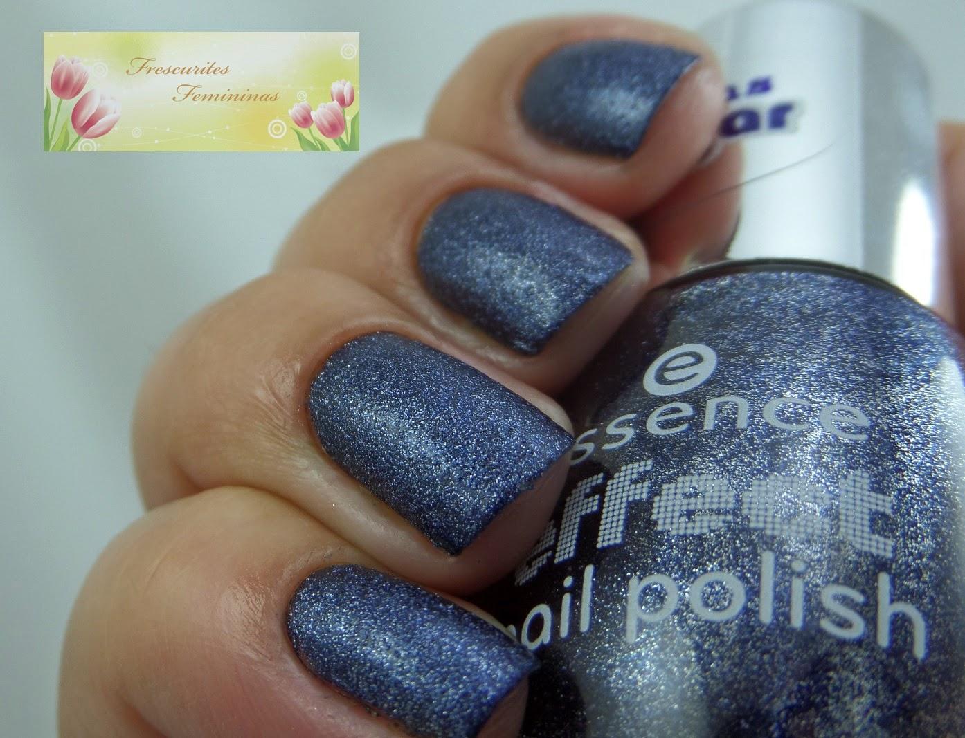 Frescurites Femininas, blue nails, challenge