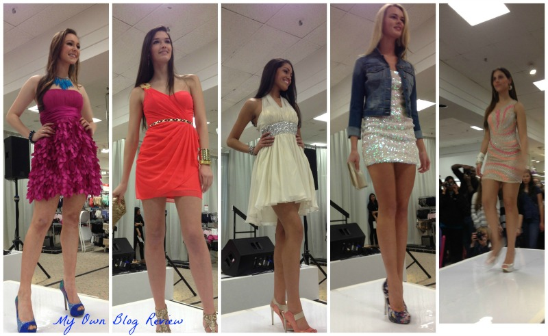 Macys Prom Fashion Show With Mandi Line Action Item And My Prom