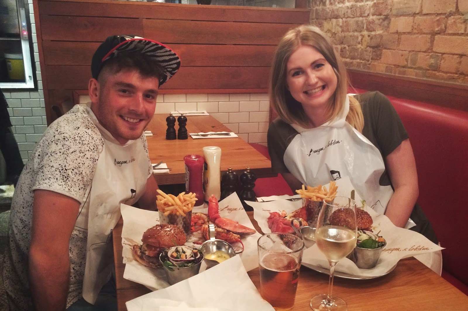 Burger and Lobster review, Soho, food bloggers