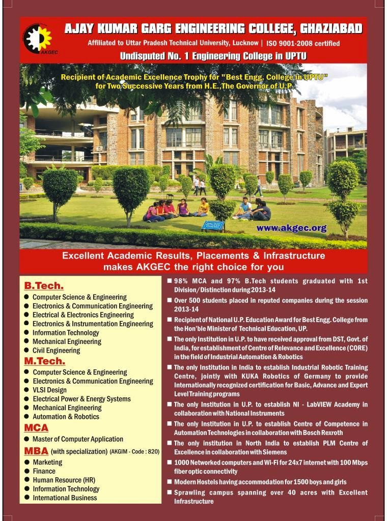 Akgec Ghaziabad Direct Admission Fees Courses Cutoff
