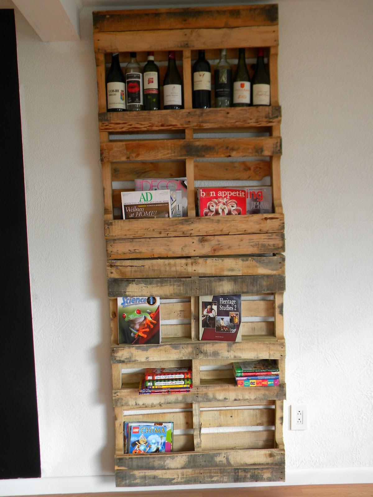 Arte interior designer riciclo bancali porte legno e for Riciclo bancali legno