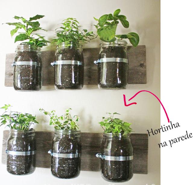 mini jardim de temperos : mini jardim de temperos:Fuxicando e Decorando: Mini Horta e Jardim Vertical