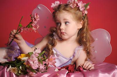 Hada de las flores - Flowers fairy - Niña bonita