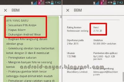 BBM Official v.2.7.0.20 Android Versi Terbaru Gratis