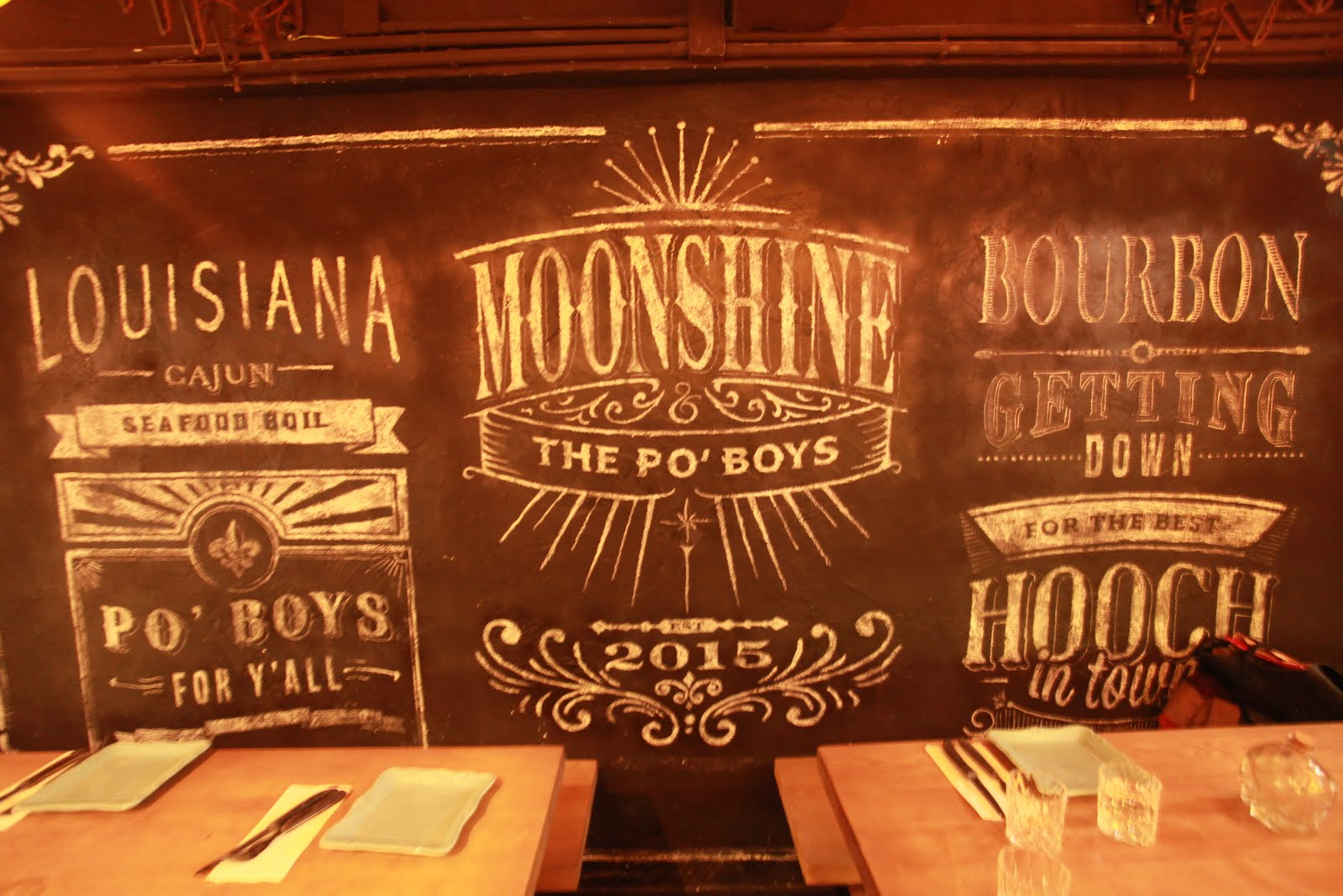 Moonshine & The Po\'Boys - A Hip Night Out with Southern Food | hkblogger