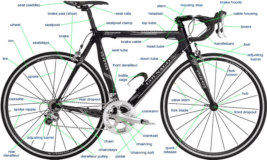 Bicycle Parts Terminology 01 the bicycle mechanic how to fix a slipping chain and gears