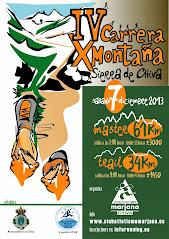 IV Carrera x Montaña Sierra de Chiva