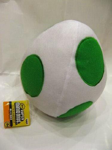 Peluche Huevo de Yoshi Super Mario Bros
