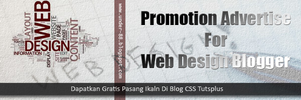 free advertise for web blogger design