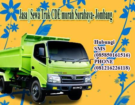 Jasa | Sewa Truk CDE murah Surabaya   - Jombang