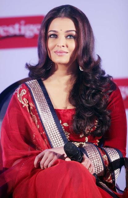 Aishwarya Rai Bachchan Looks Drop-dead Gorgeous In Red Dress At TTK Prestige Brand Ambassador Announcement Event