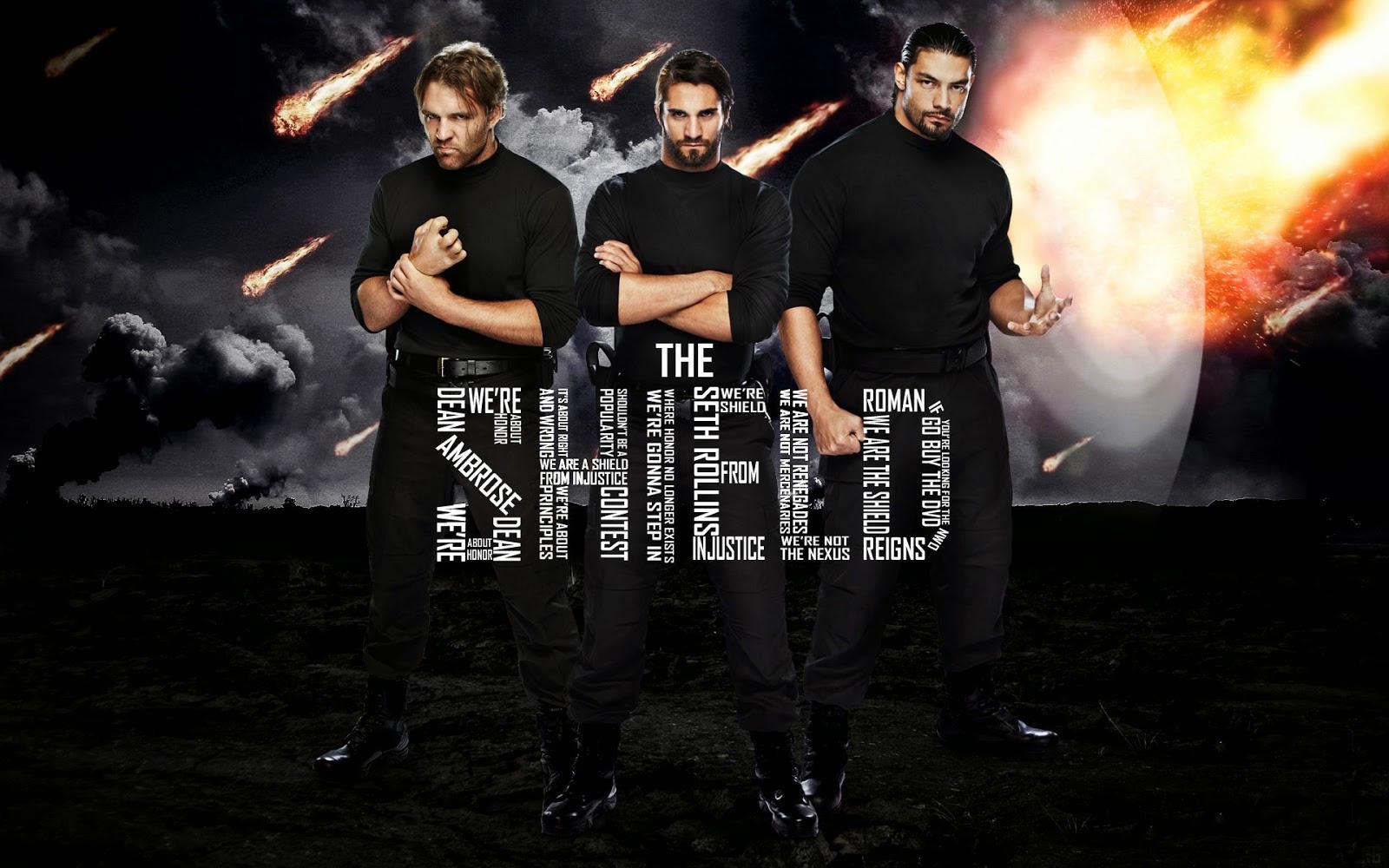 WWE The Shield Wallpaper - WallpaperSafari