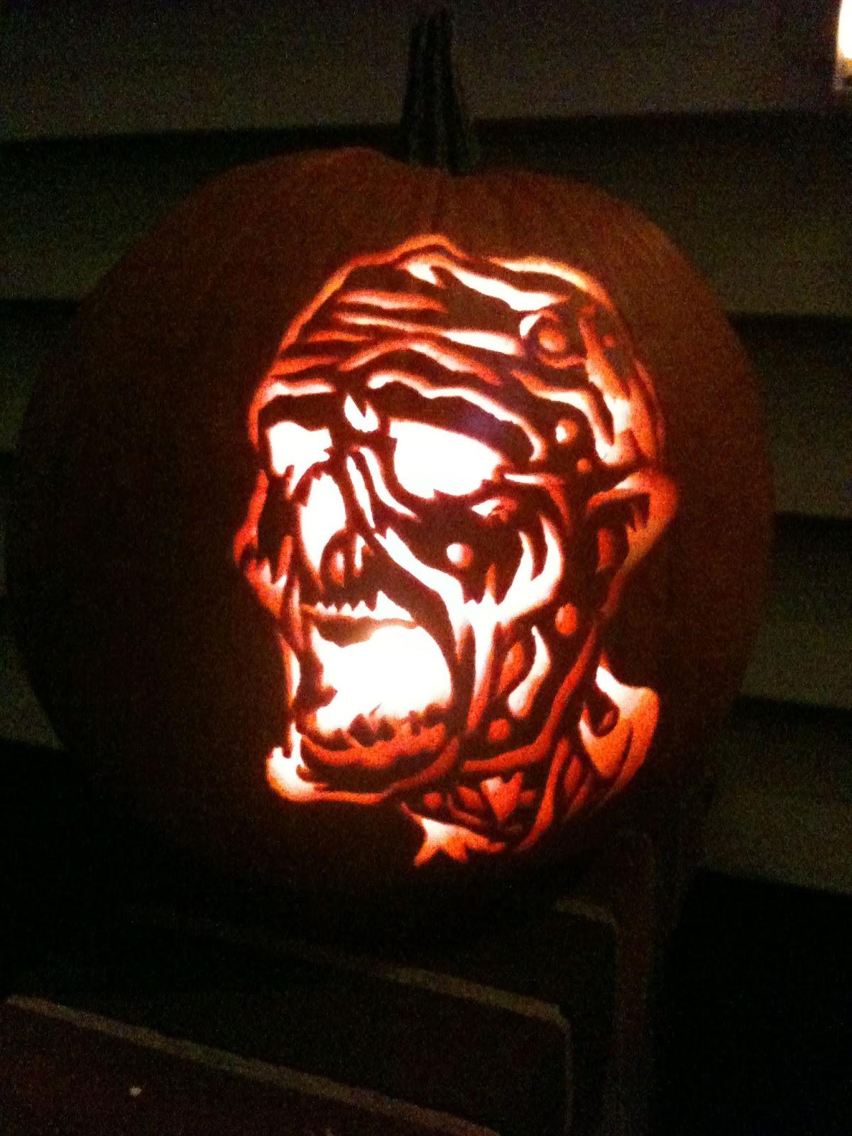 My life as a zombie pumpkin