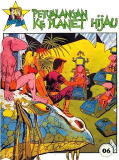 ebook komik Arad dan Maya - Petualangan Ke Planet Hijau