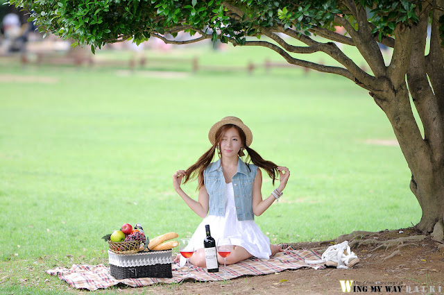 3 Picnic with Han Ji Eun-Very cute asian girl - girlcute4u.blogspot.com