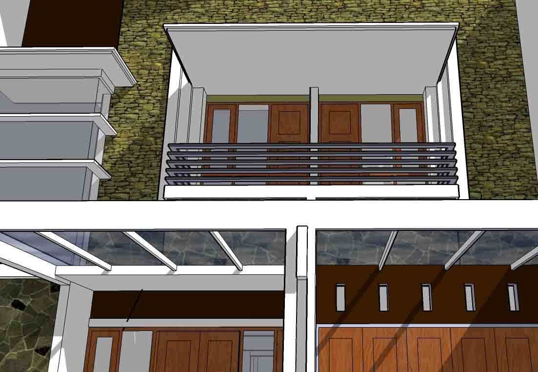 Balcony designs bill house plans for Balcony modern