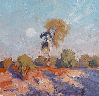Warwick Fuller painting - Cobar Overture