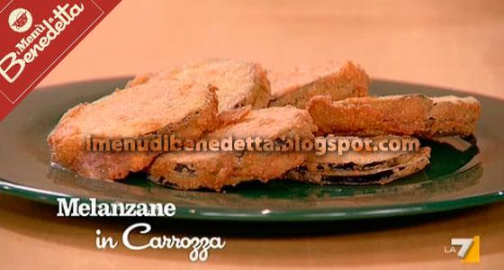 Melanzane in carrozza la ricetta di benedetta parodi for Mozzarella in carrozza parodi