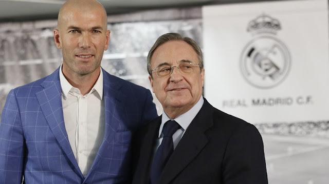 Las prisas de Florentino por presentar a Zidane