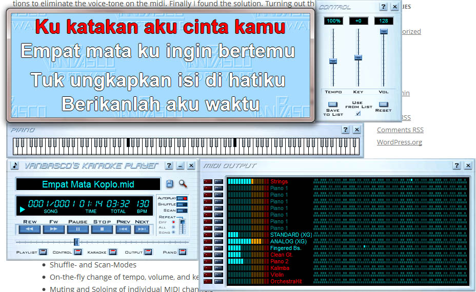 Download free software Pc Karaoke Player Freeware - blogsies