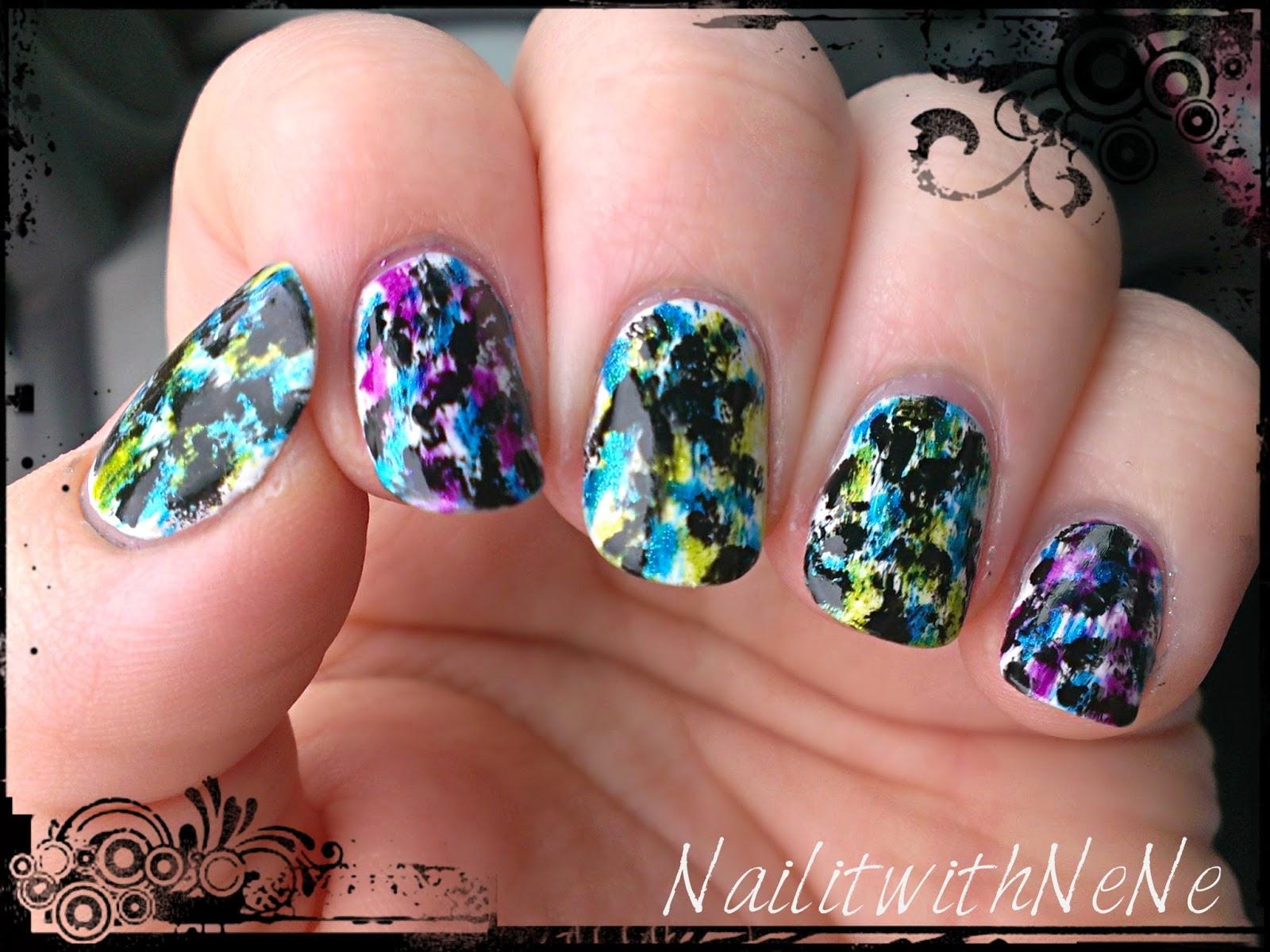 Nail It With Nene Grunge Nail Art