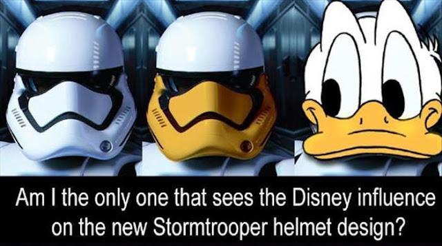 Wenn Du es einmal gesehen hast, dann siehst Du es immer wieder | Disneys Einfluß in Star Wars VII