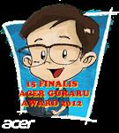 15 FINALIS GURARU AWARD 2012