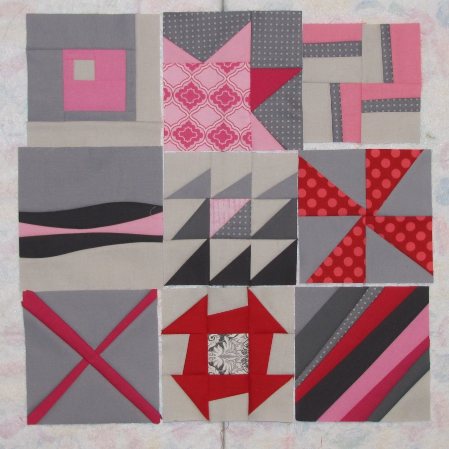 Alamosa quilter modern monday quilt along for Modern house quilt block