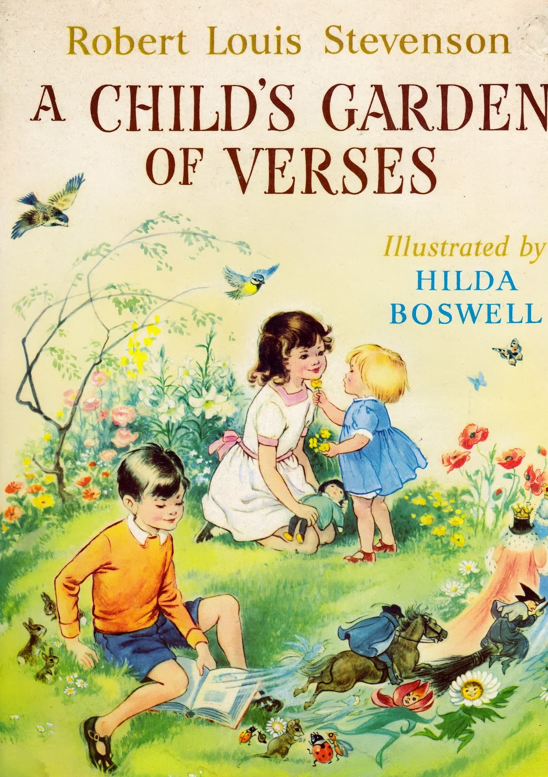 a childs garden of verses illustrated by hilda boswell - A Childs Garden Of Verses