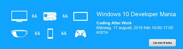 Windows 10 Developer Mania