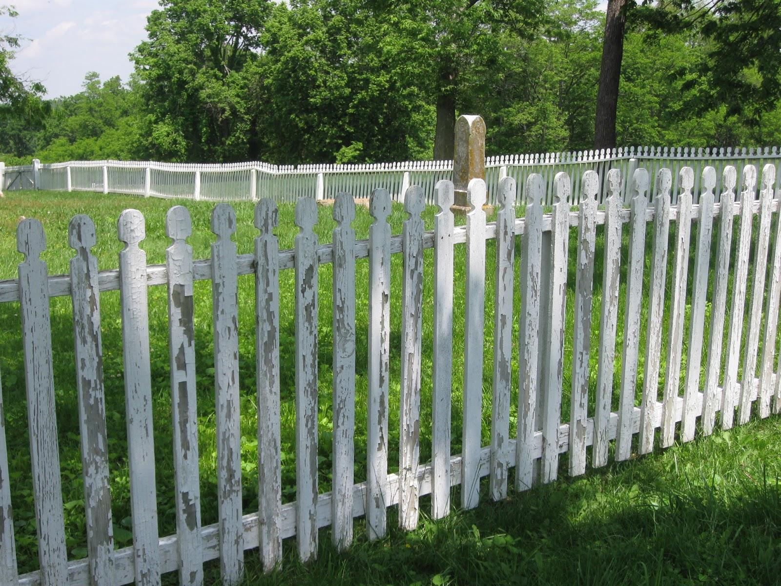 Folkways Notebook Shaker Cemetery Fence