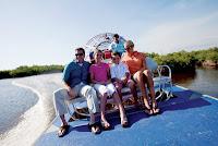 Everglades Adventure, airboat tour, Hilton Naples Hotel