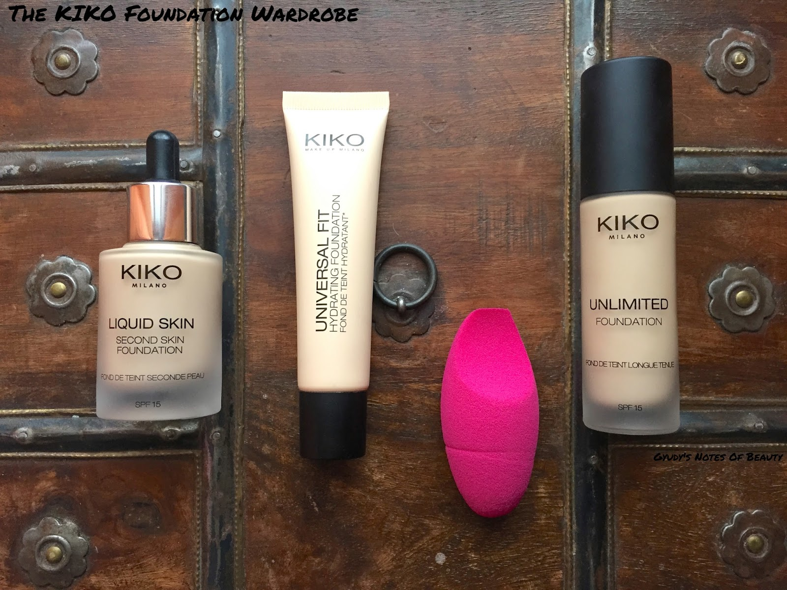 Kiko Foundation Unlimited Universal Fit Liquid Skin Precision Sponge