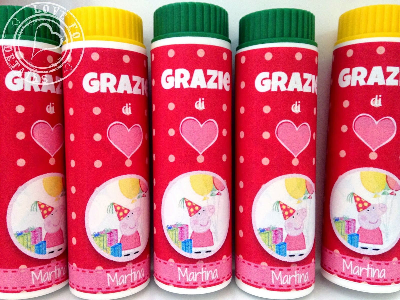 party favors peppa pig