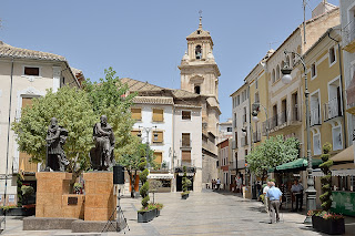Plaza in Caravaca