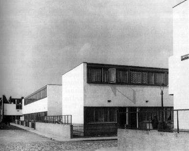 Historia de la arquitectura moderna barrio kiefhoek 1925 for Historia de la arquitectura moderna