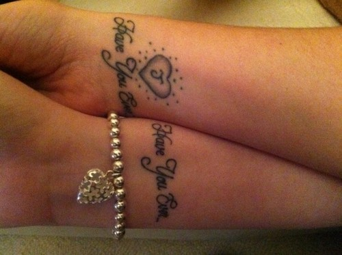 Tattoos for married couples for Married couple tattoos