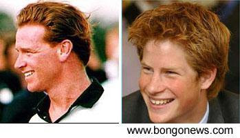 It s news 2 them dna proves who is prince harry s real father