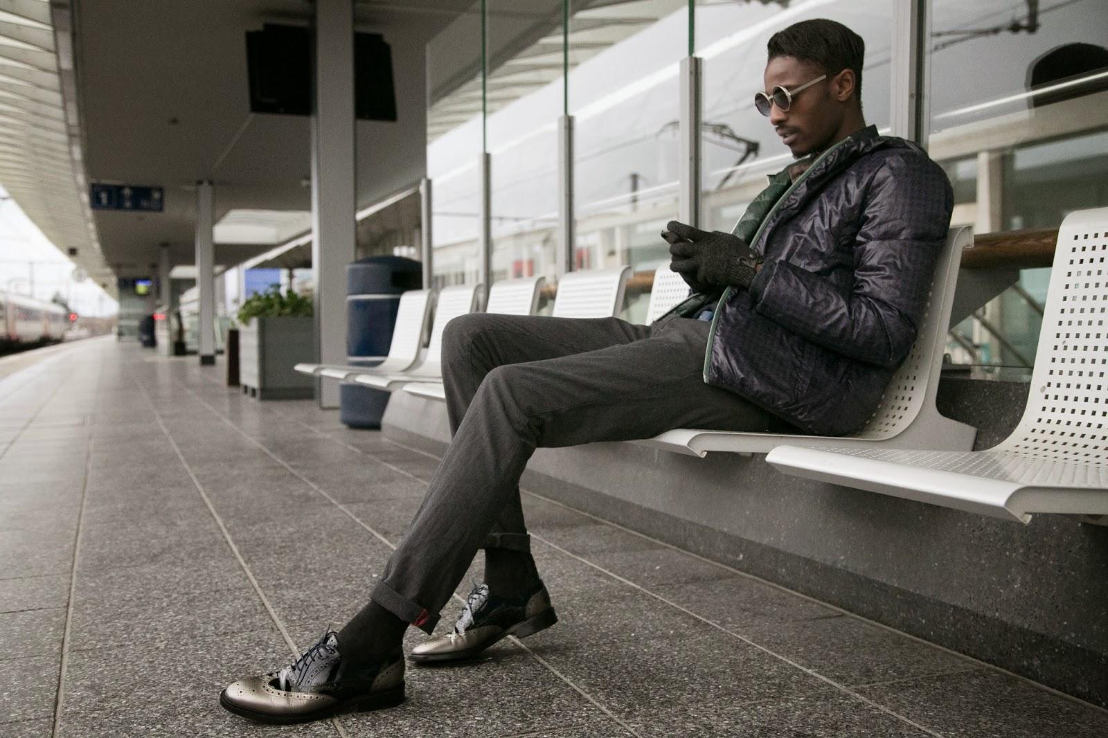 40WEFT gray trouser