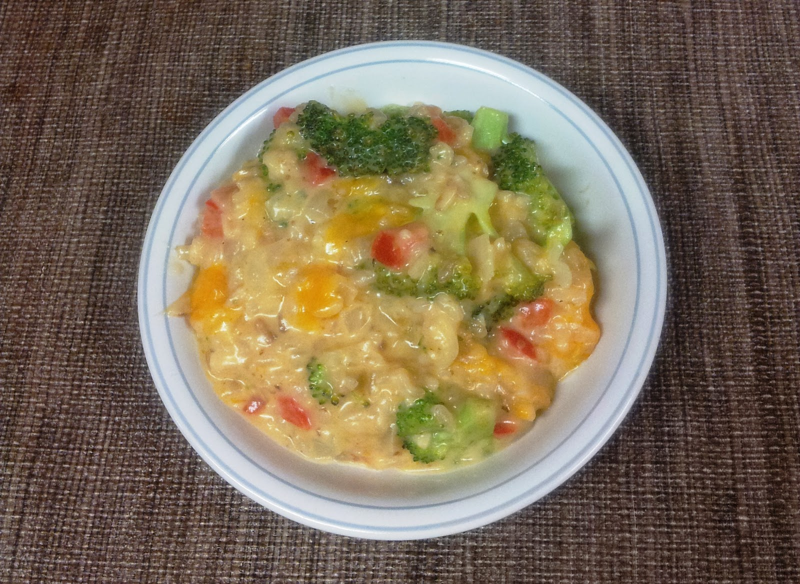 ... Does Dinner... Healthy & Low Calorie: Broccoli Cheese Rice Casserole