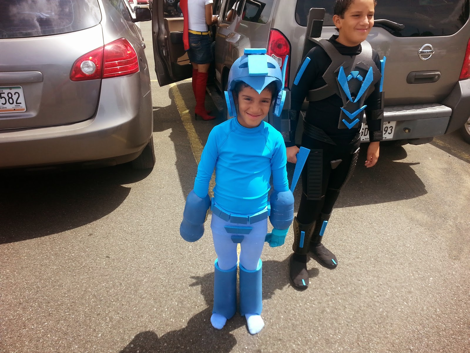 Cosplay Mega Man