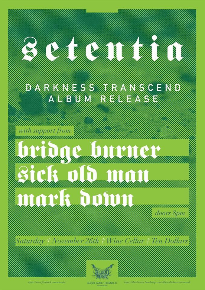 Setentia Album Release