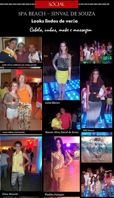 Looks e pessoas que marcaram presença da inauguração do SPA Beach Sinval de Souza