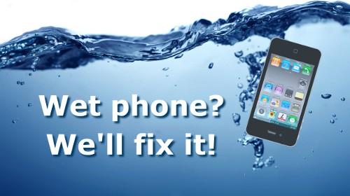 Cell Phone Water Damage Repair