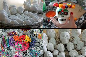 Salvation Sisters Sugar Skull Decorating Party