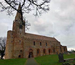 All Saints' Brixworth Saxon Church Northampton Britain